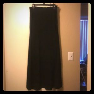 black long maxi skirt by Express